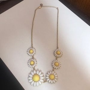 Goldtone Daisy Necklace
